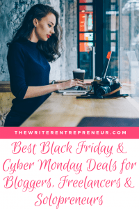 Best Black Friday & Cyber Monday Deals for Bloggers, Freelancers and Solopreneurs
