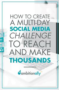 social media challenge ideas
