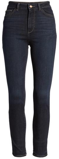 tummy control jeans - DL1961 instasculpt farrow high waist skinny jeans   40plusstyle.com