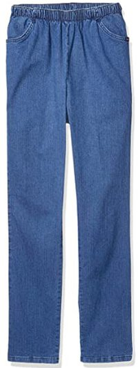 elastic waistband jeans from Chic Classic Collection | 40plusstyle.com