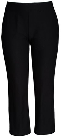 Eileen Fisher slim stretch ankle pants | 40plusstyle.com