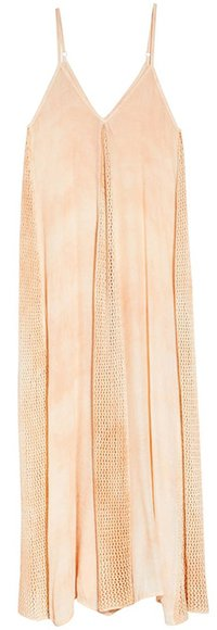 Elan Crochet Godet Cover-Up Maxi Dress | 40plusstyle.com