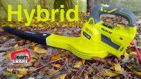 RYOBI 18V Hybrid Blower (Test Video)