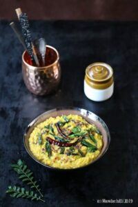 Cabbage Kootu / South Indian Vegan Cabbage Gravy