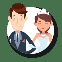 Przypinki na ślub. Sprawdź naszą ofertę na znaczki weselne dla gości.