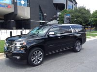 Full size 7 passenger SUV for airport transfer in IAD, DCA, BWI airports