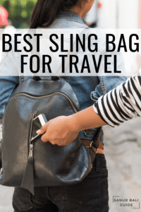 Your ultimate guide to the Best sling bag for travel