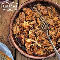 Sidecar Sausages - Pulled Pork - Hickory Texas BBQ