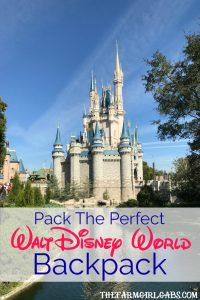 Tips and tricks on how to Pack The Perfect Walt Disney World Backpack. Great travel tips and suggestions for you next Disney family vacation. #WaltDisneyWorld #travel #packingtips