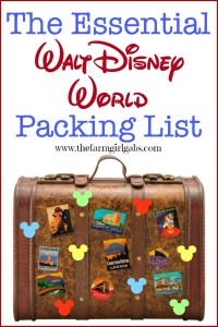 The Essential Walt Disney World Packing List is a great resource for your vacation to the Walt Disney World Resort. This checklist includes all the essential items you need to pack for your Disney vacation. #DisneySide #DisneySMMC #DisneySMMoms