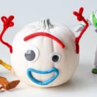 DIY Toy Story 4 Forky Pumpkin