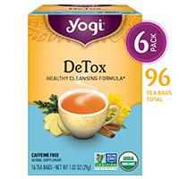 योगी चाय डिटॉक्स