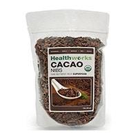 Healthworks сертифицирани биологични суровини счуканите какаови зърна