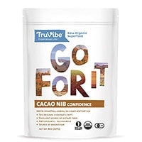 Truvibe 100 Organic Raw Cacao Nibs