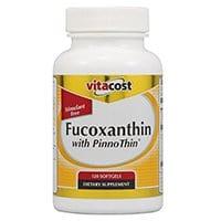 Vitacost فوكوكسانثين مع Pinno رقيقة