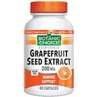 Ботаническата Choice Graperfruit Екстракт от семена