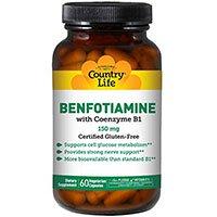 Χώρα ζωής Βιταμίνη B1 Με Benfotiamine