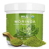 Orgánica Polvo de Moringa Maju súper alimentos de MAJU