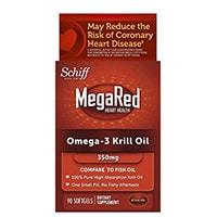 MegaRed Omega 3 Krill Oil-100% Pure Antarctic Krill Oil