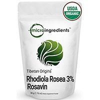 Micro ingredientes orgânicos Rhodiola rosea