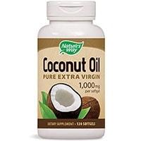 ნატურალური გზა Coconut Oil Soft Gels