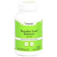 Vitacost Banaba ფოთოლი ამონაწერი