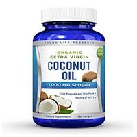 Young Life Research Coconut Kapsul Minyak