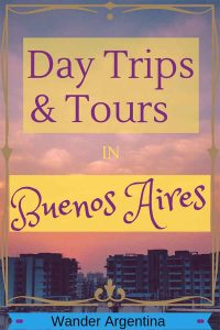 A sunset sky over the city | Day Trips and Tours in Buenos Aires