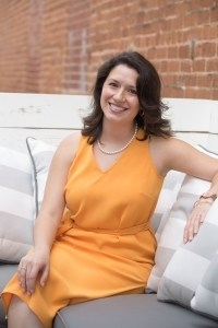 Stefanie Diaz, WC '05 and BU '07, is the founder and CEO of Mastermind Your Launch. (AJ Reynolds/Brenau University)