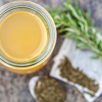 Green Tea Apple Cider Vinegar Hair Rinse