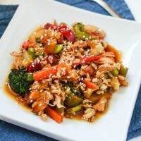 Weight Watchers Teriyaki Chicken Casserole