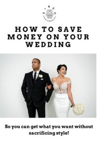 Save money on your wedding