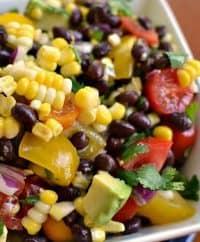 Fresh Black Bean and Corn Salad