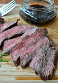 Grilled Flank Steak (Marinated to Ensure a Juicy Tender Steak Everytime)