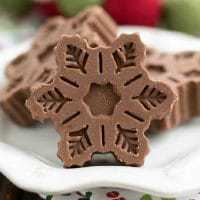 Festive Fudge Snowflakes and Squares featured image