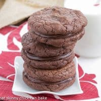 Chocolate Coma Cookies | A chocolate lover's dream cookie!