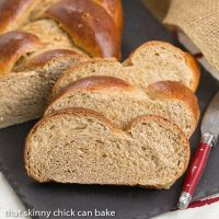 Whole Wheat Challah | Eggy, tender with the bonus of whole wheat!