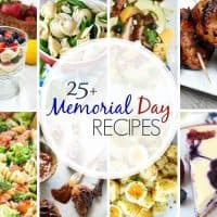 25+ Memorial Day Recipes | From patriotic holidays to picnics, there's plenty of menu inspiration!