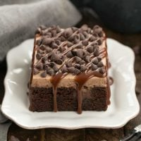 Kahlua Poke Cake