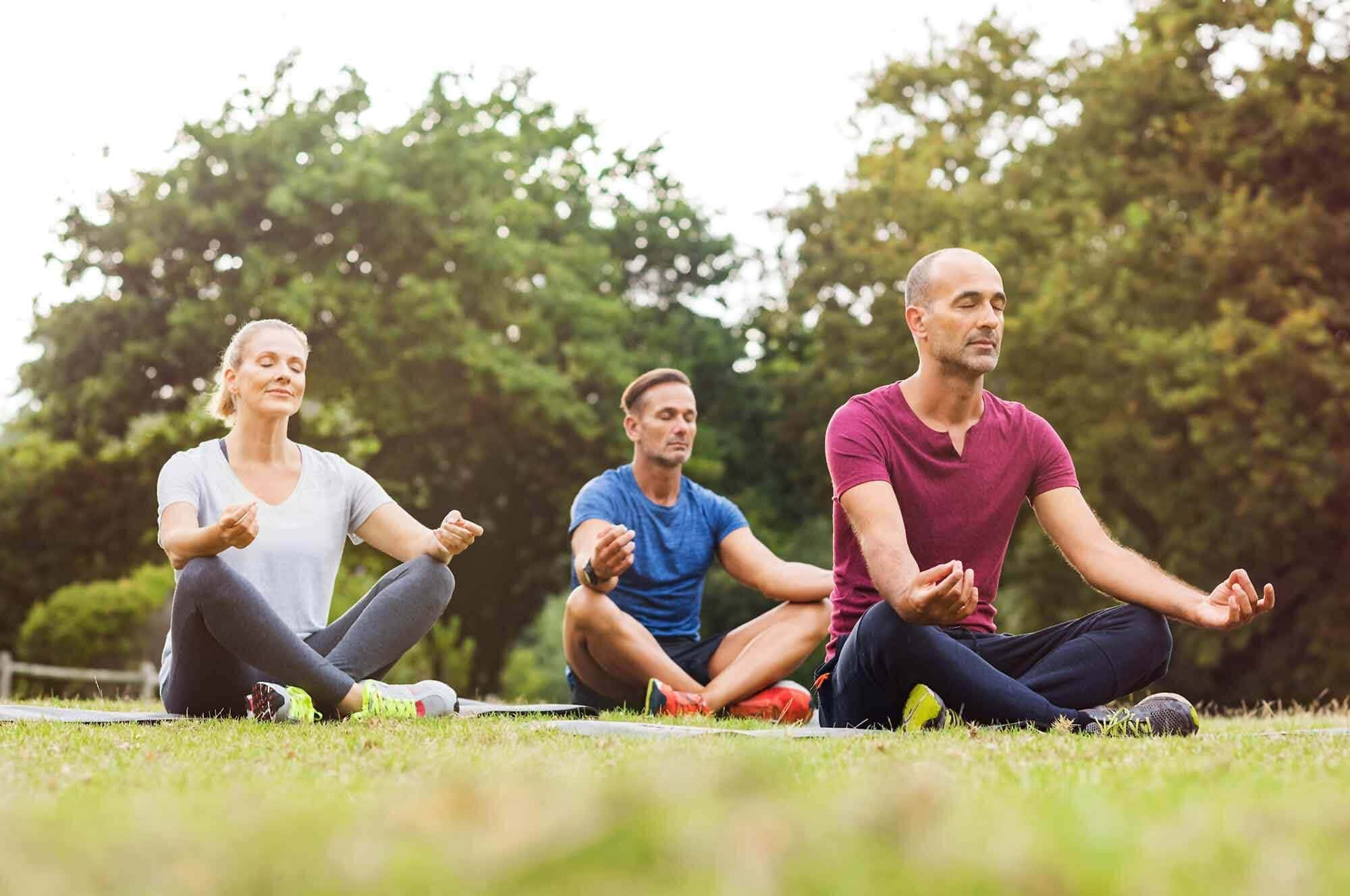 Meditation for holistic healing from drug and alcohol abuse.