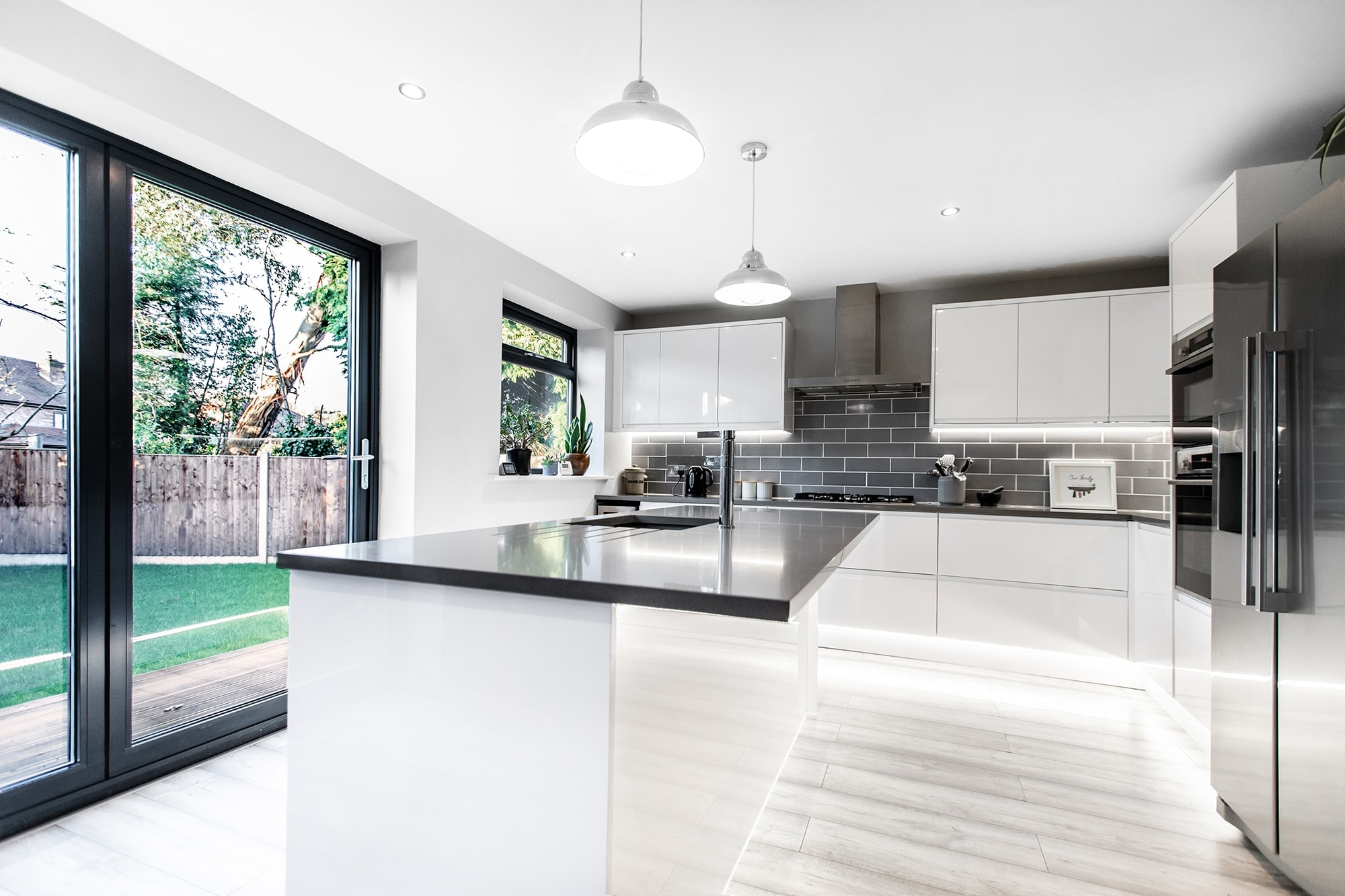 Property Photography and Interior Photography a stunning kitchen in cheshire for sale