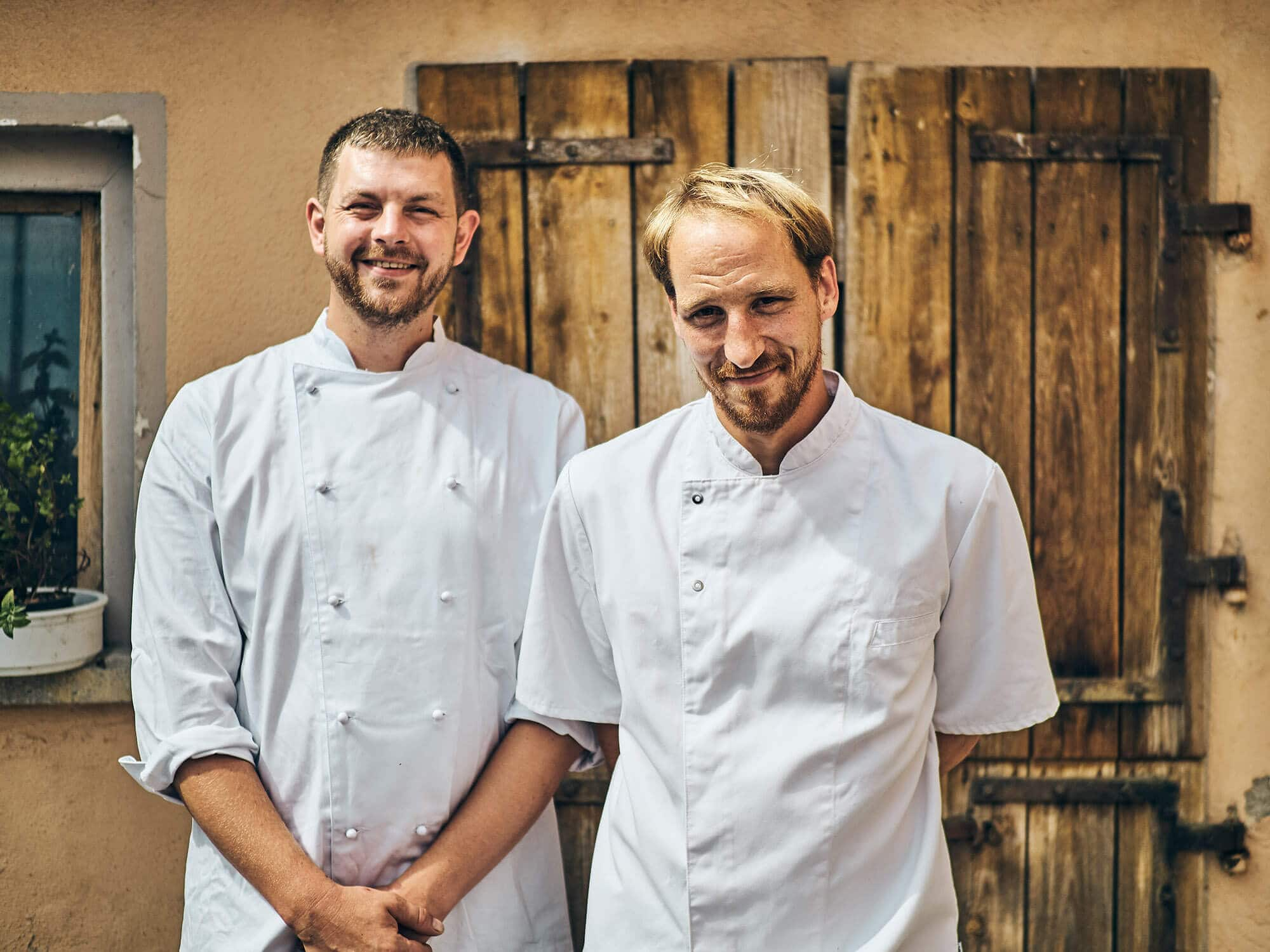 Johannes Fetz und Jan Buchholz –Team vom Gasthaus Fetz