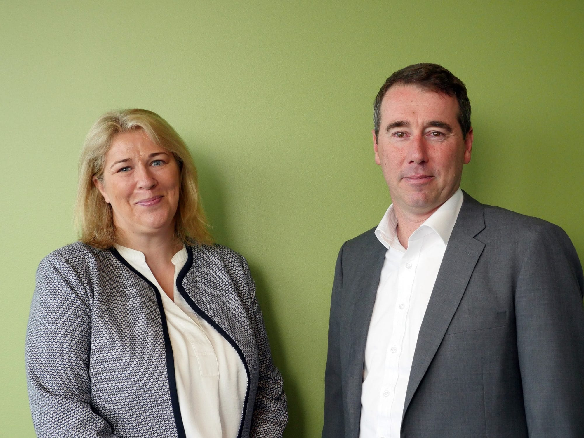 Joanne Smith Recordsure and Adrian Fisk KPMG
