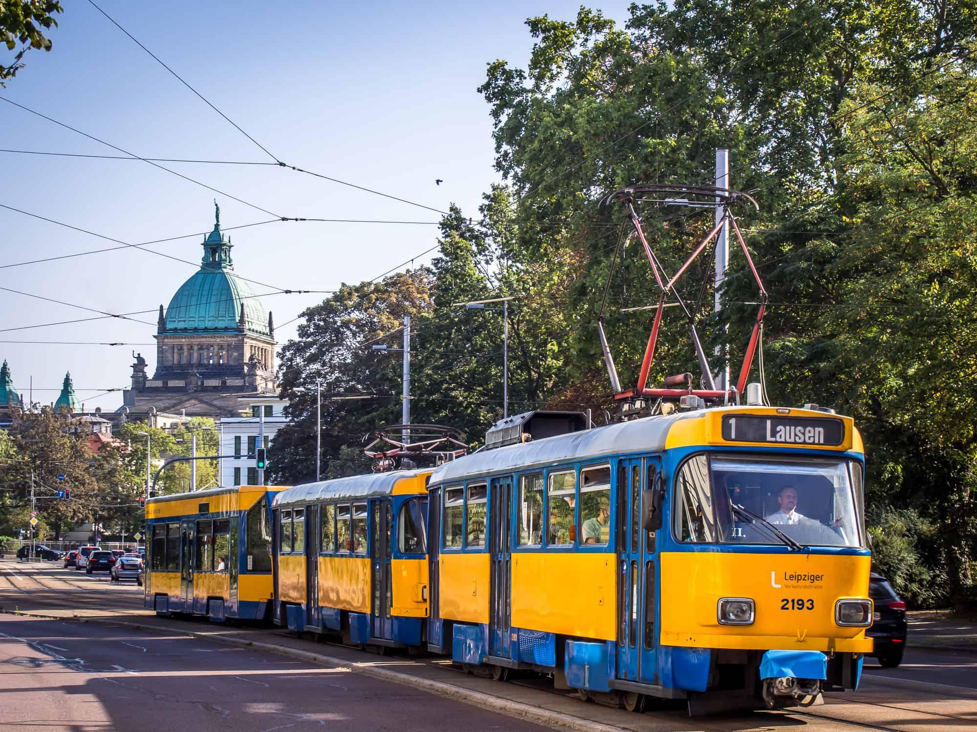 Tatra Leipzig Tram