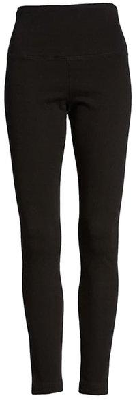 Lyssé high waist denim leggings | 40plusstyle.com