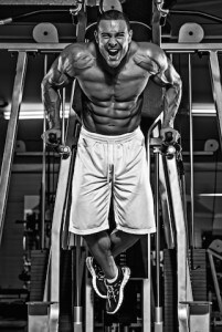 Bodybuilder dips