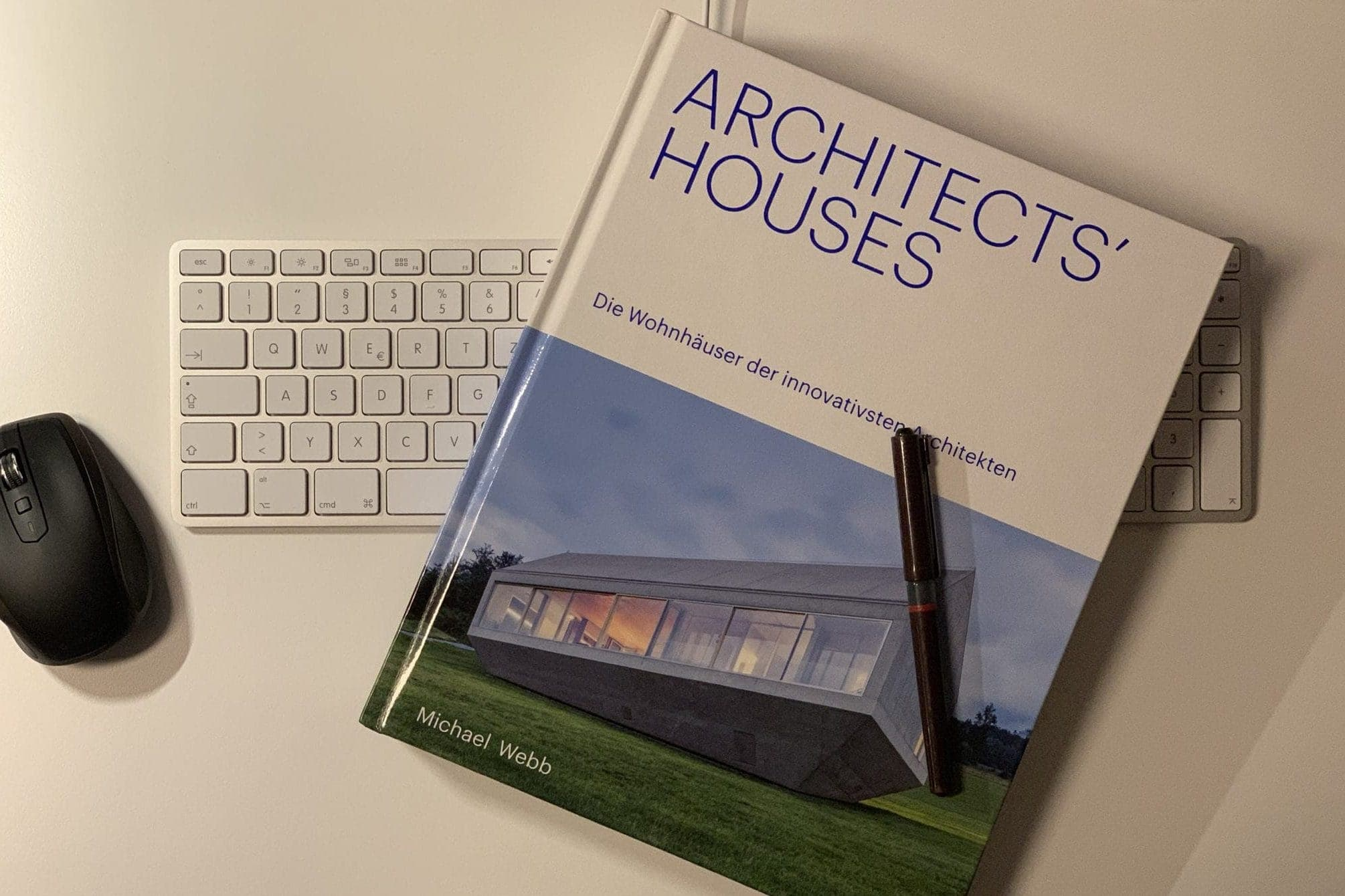 Buchcover Architects' Houses