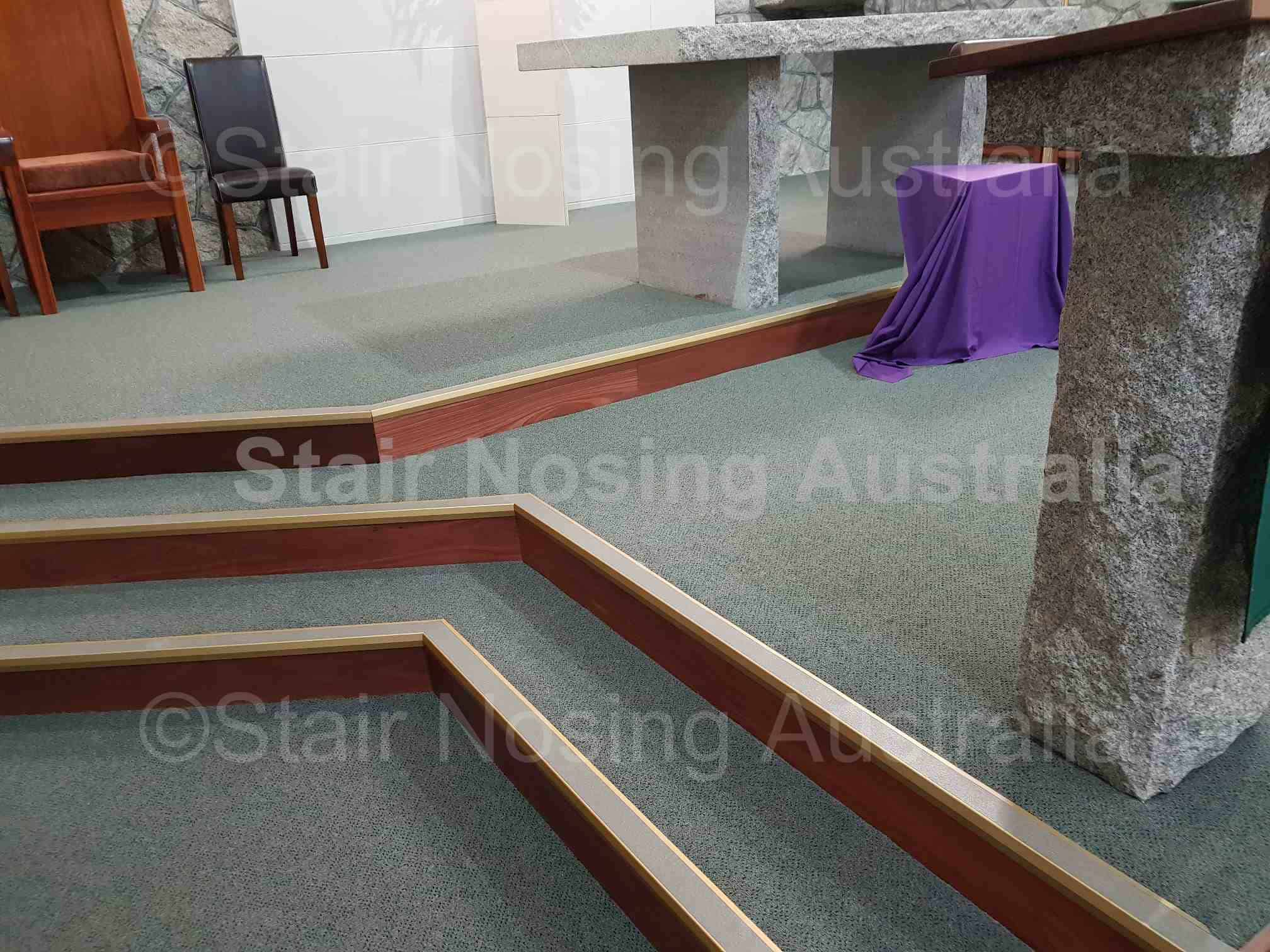 Carpet stair nosing in Perth