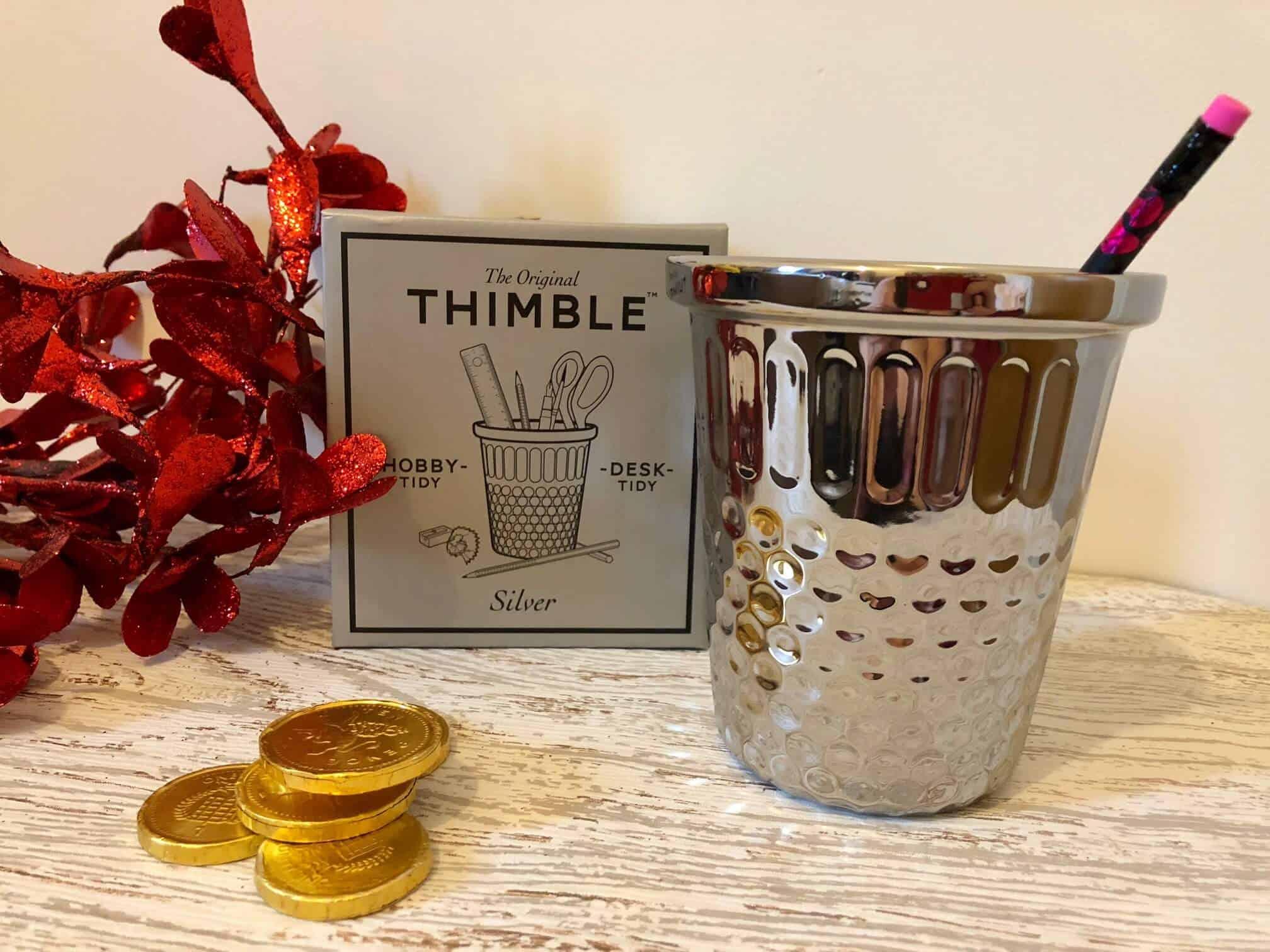 Desk Tidy Pen Pot- Thimble