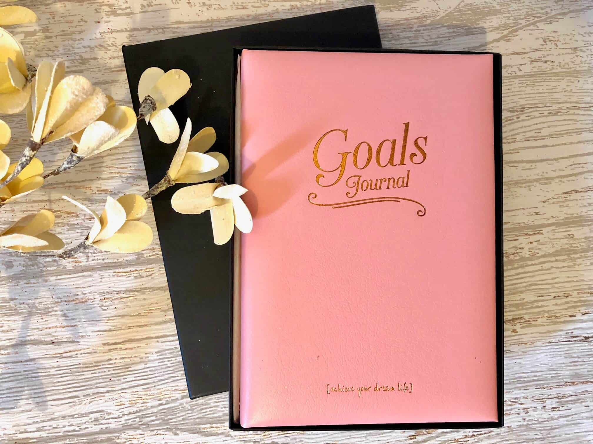 Leather Goals Journal